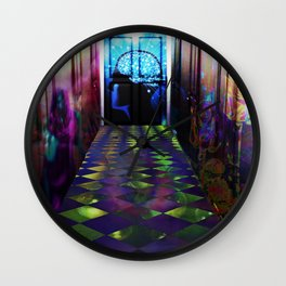 """Doorways to Imagination"" by surrealpete Wall Clock"