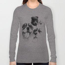 Dogs  sk128 Long Sleeve T-shirt
