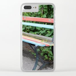 Take a Seat Clear iPhone Case