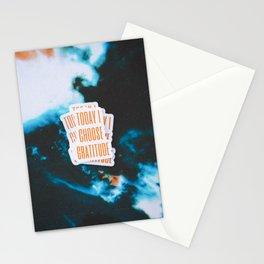 Today I Choose Gratitude Stationery Cards