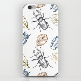 Bugs and leaves iPhone Skin