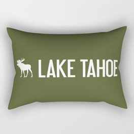 Lake Tahoe Moose Rectangular Pillow