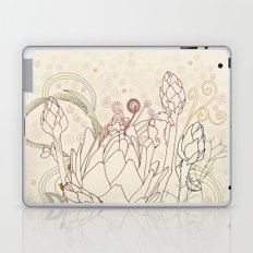 Peach and purple  artichoke Laptop & iPad Skin