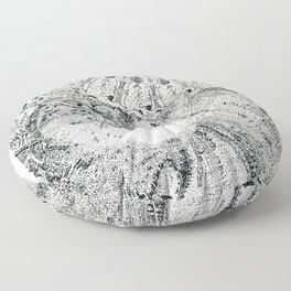 Mandala008 Floor Pillow