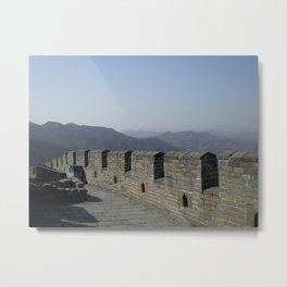 The Great Wall of China III Metal Print