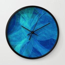 Circular Deconstruction V Wall Clock