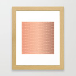 Art Deco Pattern 1 [ROSE GOLD] Framed Art Print