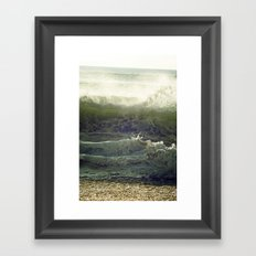 Liquid Fury Framed Art Print