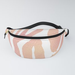 wild thing (pink and gold foil) Fanny Pack