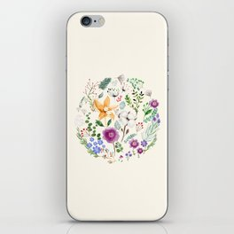 Winter Flowers iPhone Skin