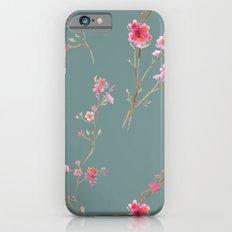 2016 Calendar Print - Cherry Blossoms iPhone 6s Slim Case