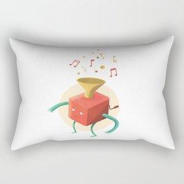 Music box Rectangular Pillow