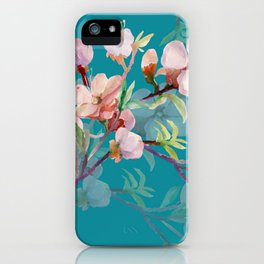 Apple Blossom iPhone Case