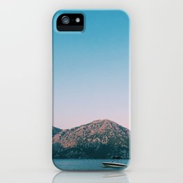 Bay of Kotor 7 iPhone Case