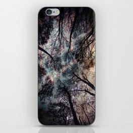 Starry Sky in the Forest iPhone Skin