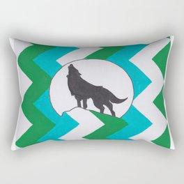 ZigZag Wolf Rectangular Pillow