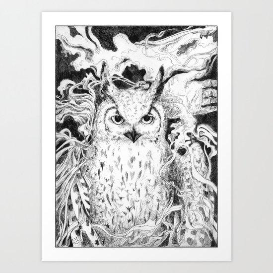 Seeking Equilibrium: Part II Art Print