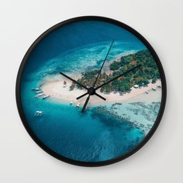 Coron Palawan Philippines Wall Clock