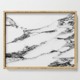 Marble (White) Serving Tray