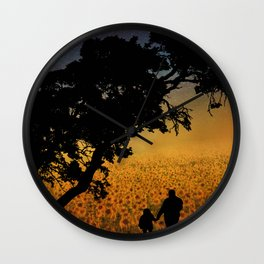 Grandpa - Tell Me About The Good Old Days Wall Clock