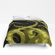 Subterranean Green Comforters
