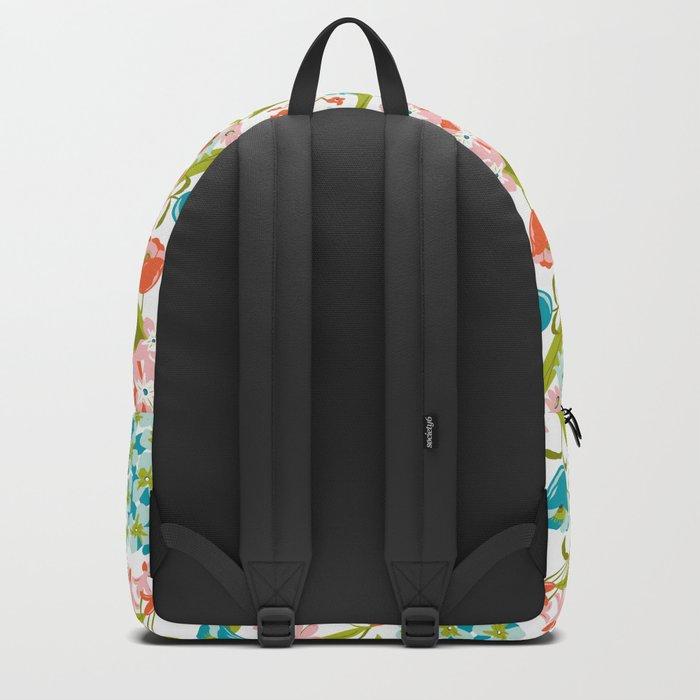 Amilee White Backpack