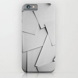 Sheets of Paper iPhone Case