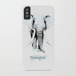 elephantidae iPhone Case