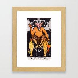 15 - The Devil Framed Art Print