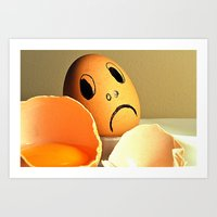 eggs Art Prints featuring eggs by  Agostino Lo Coco