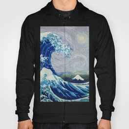 The Starry Night Wave Hoody