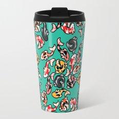 Aqua Koi Travel Mug