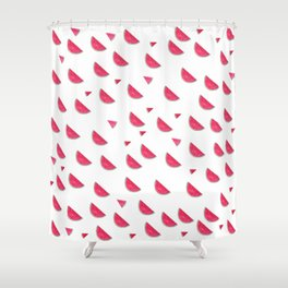 Fresh Watermelon Shower Curtain