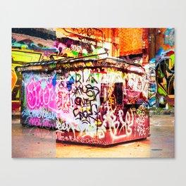 Graffiti Blitz. Canvas Print