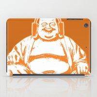 buddah iPad Cases featuring Buddah Beats by ALLGOLD Creative