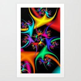 fractal geometry -103- Art Print