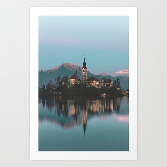 Bled, Slovenia III Art Print