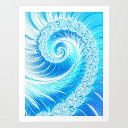 Frozen Vortex Art Print