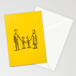 Family - The Twins Stationery Cards