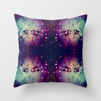doll Throw Pillows featuring Doll by Raquel Belloch