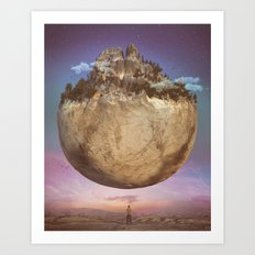 ONE (everyday 03.10.17) Art Print
