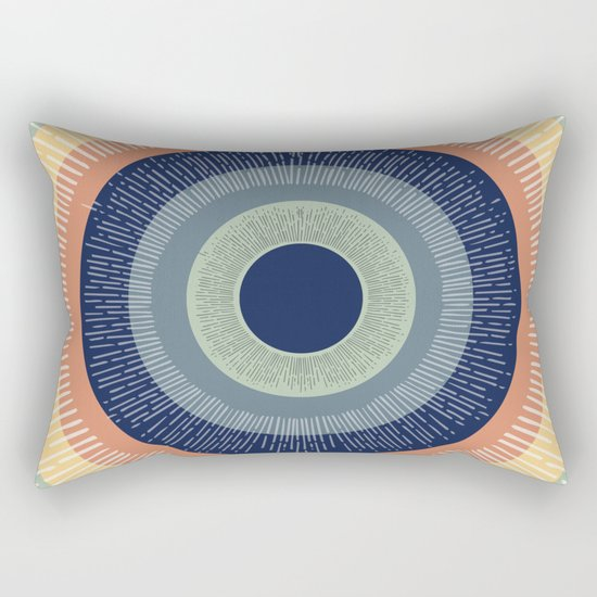 Eye Ain't Mad Rectangular Pillow