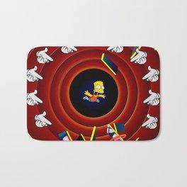 Simpsons Pop Art Bath Mat