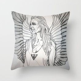 Architecture at its Flyest  Throw Pillow