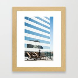 Room With A View Jacksonville FL Framed Art Print
