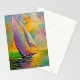 A fresh breeze Stationery Cards
