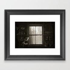 Barn Life  Framed Art Print
