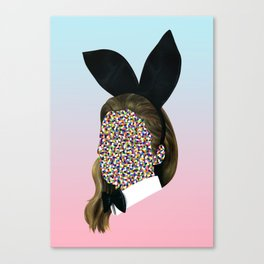 Bunny Girl Canvas Print
