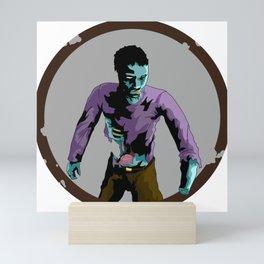 Flesh Eating Zombie Mini Art Print