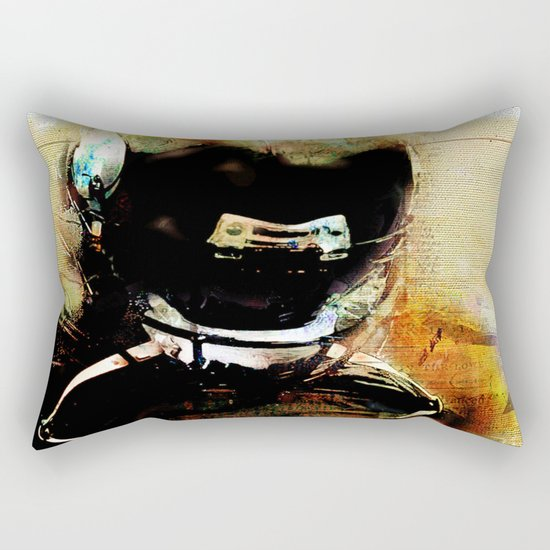 Quarterback Rectangular Pillow